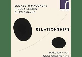 Lin,Malu/Swayne,Giles - RELATIONSHIPS MUSIC FOR VIOLIN AND  - (CD)