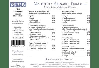 Labirinto Armonico - ARIE E SONATE  - (CD)