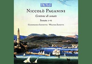 Iannetta,Gianfranco/Zanetti,Walter - CENTONE DI SONATE M.S. 112 - SONATE I-VII  - (CD)
