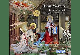 Fausto Caporali - LE OPERE ORIGINALI PER ORGANO E HARMONIUM  - (CD)