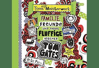 Liz Pichon - Tom Gates-Toms geniales Meisterwerk (Familie,Fr  - (CD)