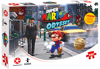 WINNING MOVES Super Mario Odyssey: New Donk City Puzzle Mehrfarbig