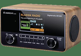 ALBRECHT DR 865 DAB+ Radio, DAB+, FM, Braun