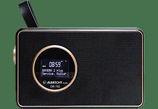 ALBRECHT DR 750 DAB+ Radio, DAB+, FM, Bluetooth, Schwarz / Kupfer