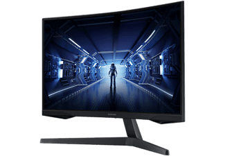 "Monitor gaming - Samsung Odyssey LC27G55TQWUXEN, 27"" WQHD, Curvo, 1 ms, 144Hz, HDR10, HDMI, FreeSync, Negro"