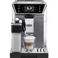 DE LONGHI Kaffeevollautomat PrimaDonna Class Evo, Silber ECAM 550.85.MS