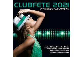 VARIOUS - Clubfete 2021 (46 Club Dance & Party Hits) [CD]
