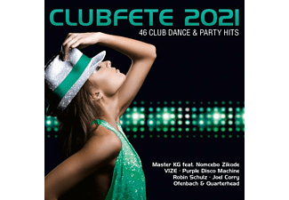 VARIOUS - Clubfete 2021 (46 Club Dance And Party Hits)  - (CD)