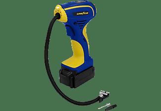 GOODYEAR 10727 Akku Handkompressor, Blau,Gelb