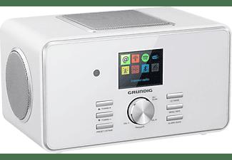 GRUNDIG DTR 6000 X Internetradio, FM / RDS / DAB+ / Internet Radio, FM, DAB+, Internet Radio, AM, Bluetooth, Weiß