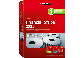 Lexware financial office 2021 Buchhaltung-Rechnung-Lohn JV (365-Tage) - [PC]