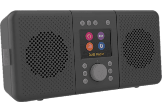 PURE DIGITAL Elan Connect+ - Radio internet (DAB, DAB+, FM, Internet radio, Gris foncé)