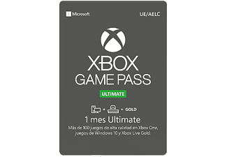 Tarjeta - Xbox GamePass Ultimate 1 mes (Formato físico)