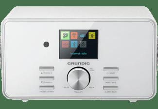 GRUNDIG DTR 5000 X Internetradio, FM, AM, DAB+, Internet Radio, DAB, FM, DAB+, Internet Radio, AM, Bluetooth, Weiß