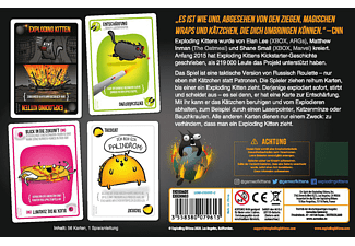 EXPLODING KITTENS Exploding Kittens (Miauende Edition) Gesellschaftsspiel Mehrfarbig