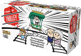 LUCKY DUCK GAMES Trial by Trolley Gesellschaftsspiel Mehrfarbig