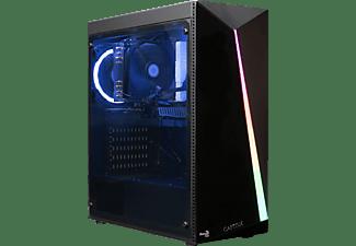 CAPTIVA R56-824, Desktop PC mit Ryzen 5 Prozessor, 16 GB RAM, 1 TB SSD, Radeon Vega 11