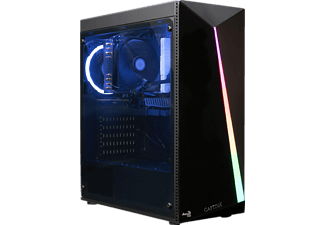 CAPTIVA R56-822, Desktop PC mit Ryzen 5 Prozessor, 16 GB RAM, 1 TB SSD, Radeon Vega 11