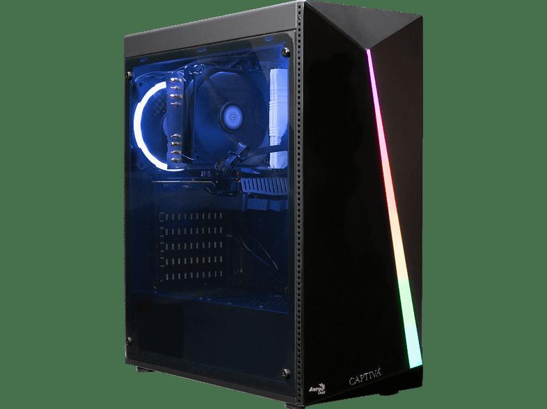 CAPTIVA I57-281, Gaming PC mit Core i3 Prozessor, 16 GB RAM, 480 SSD, GTX 1660 Super 6GB, 6