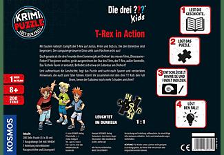 KOSMOS Krimi-Puzzle: Die drei ??? Kids - T-Rex in Action Gesellschaftsspiel Mehrfarbig