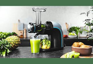 Licuadora - Cecotec Juice&Live EasyClean, 150 W, 70 rpm, 3 niveles, Libre BPA, Security System, Negro