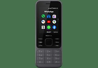 NOKIA 6300 4G Handy, Schwarz