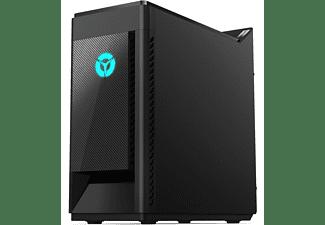 LENOVO Legion Tower 5, Gaming PC mit Ryzen 5 Prozessor, 16 GB RAM, 512 GB SSD, GeForce RTX 2070, 8 GB