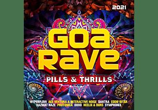 VARIOUS - Goa Rave 2021 - Pills And Thrills  - (CD)
