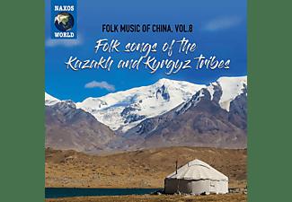 VARIOUS - Folk Music Of China Vol. 8. Folk Songs Of The Kaza  - (CD)