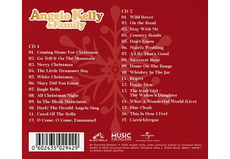 Angelo & Family Kelly - Coming Home For Christmas  - (CD)