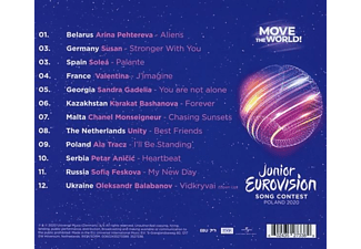 VARIOUS - JUNIOR EUROVISION SONG CONTEST 2020  - (CD)