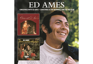 Ed Ames - CHRISTMAS WITH/CHRISTMAS IS THE WARMEST TIME OF TH  - (CD)