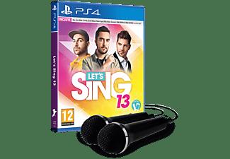 PS4 Lets Sing 13 + 2 Micrófonos