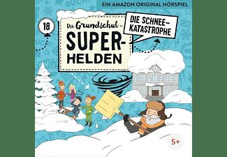 Die Grundschul-superhelden - 18: Die Schneekatastrophe  - (CD)