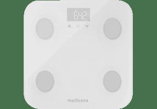 MEDISANA Wifi & Bluetooth BS 600 connect weiss Körperanalysewaage