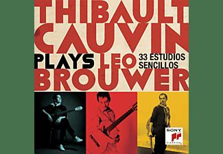 Thibault Cauvin - Thibault Cauvin Plays Leo Brouwer  - (CD)