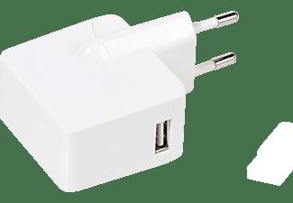 VIVANCO Ladegerät, 15W, inkl. 1,2m USB-Type-C-Kabel, weiß