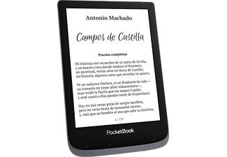 """eReader - PocketBook Touch HD 3, 6"""", WiFi, Bluetooth, 16 GB, 1500 mAh, Linux 3.0.35, Gris"""