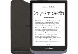 "eReader - PocketBook InkPad 3 Pro, 7.8"", WiFi, Bluetooth, 8 GB, 1900 mAh, SmartLight, IPX8, Gris + Funda"