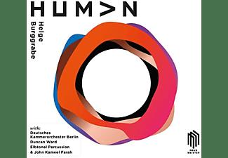Helge Burggrabe - HUMAN  - (CD)