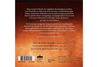 Bohorquez,Claudio/Bohorquez,Oscar/Beytelmann,Gusta - Patagonia Express  - (CD)