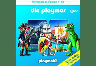 Die Playmos - Die Playmos-Hörspielbox Folgen 1-12  - (CD)