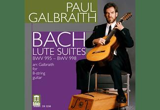 Paul Galbraith - Lautensuiten  - (CD)