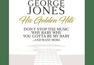 George Jones - HIS GOLDEN HITS  - (CD)