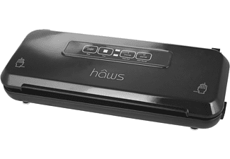 HAWS 30-SVP1000 Sous Vide Set (1300 Watt, Schwarz/Silber)