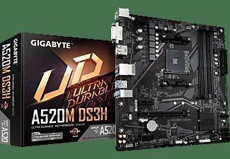 GIGABYTE A520M DS3H Mainboard Schwarz