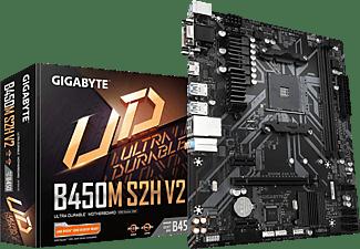 GIGABYTE B450M S2H V2 Mainboard Schwarz