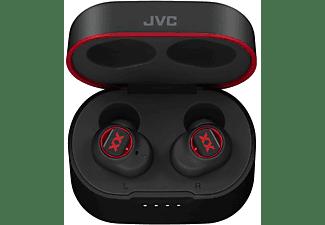 Auriculares inalámbricos - JVC HA-XC50T-B-U, True Wireless, 14 h, IP55, Negro + Estuche de carga