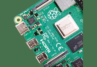 Placa base - Raspberry Pi 4 Modelo B, Cortex-A72, 8 GB RAM, WiFi Dual Band, PoE Ethernet, Verde