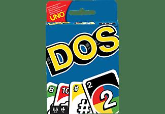 MATTEL GAMES DOS Kartenspiel, Gesellschaftsspiel, Familienspiel, Kinderspiel Kartenspiel Mehrfarbig